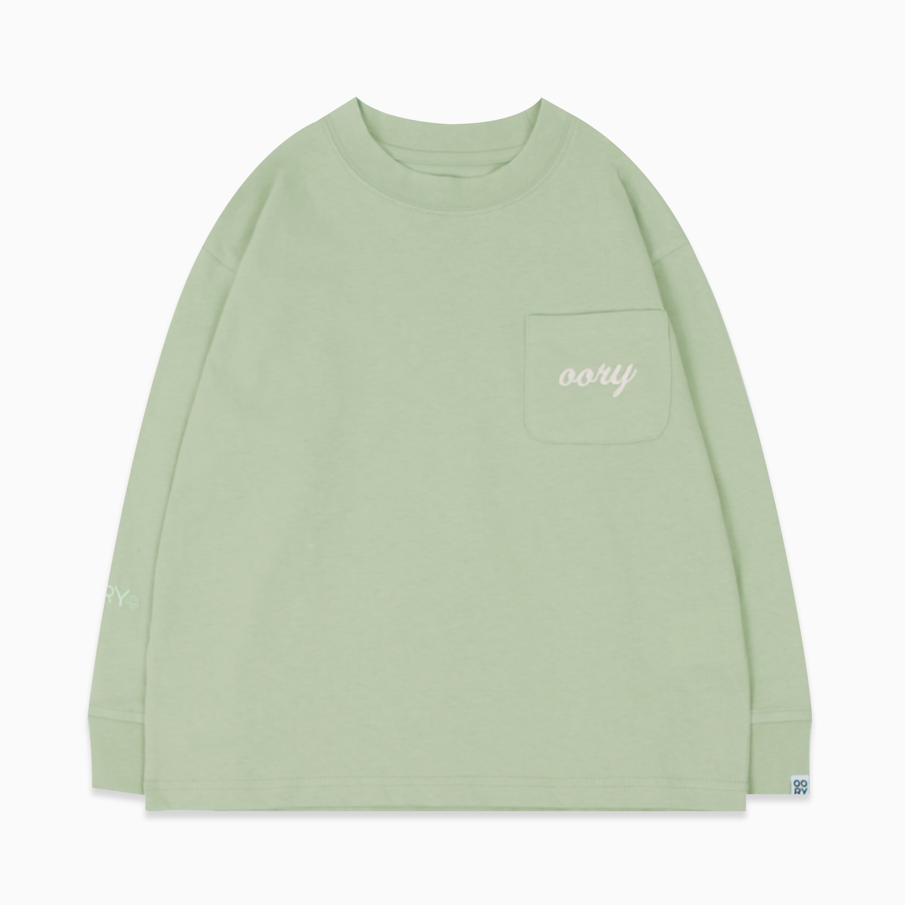 OORY color single t-shirt  - mint ( 2 차 입고 )